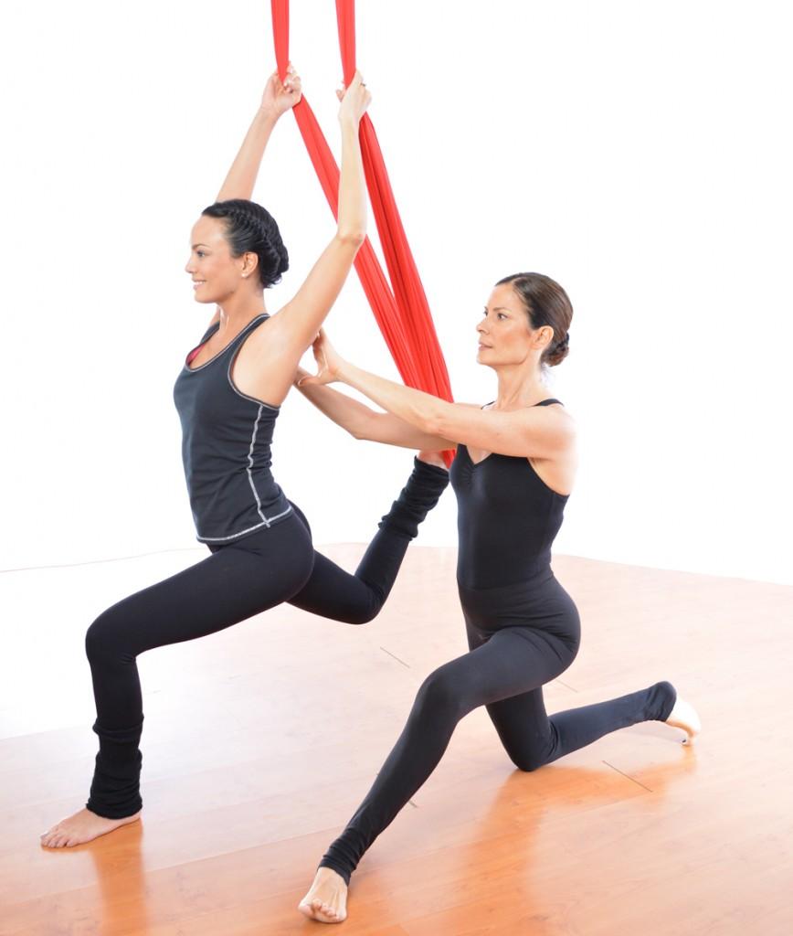 Atlantonic | Yoga aérien